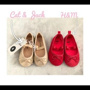 Baby Girl Shoes H&M + Cat & Jack size 4